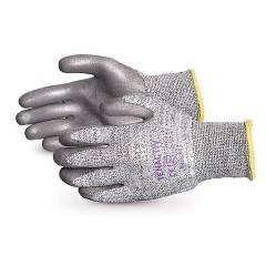 Guantes TenActiv ™ Knit Composite resistente al corte con las palmas con revestimiento de PU gris
