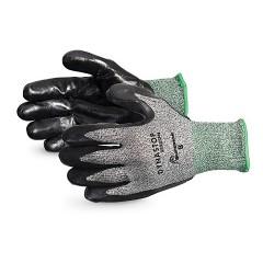 Dynastop® Resistente al corte y a la punción guantes recubiertos de nitrilo
